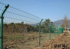 双边丝护栏网圈地案例